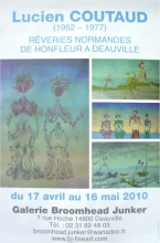 Lucien Coutaud exposition Galerie Broomhead Junker